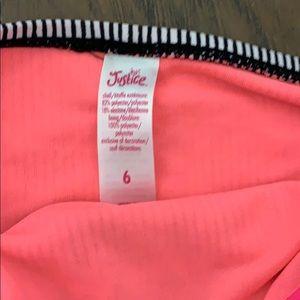 Justice Swim - 2 piece Justice swimwear for girls ! Size 6!